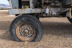 Деталь старого трактора Стоковые Фото