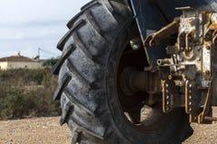 Деталь старого трактора Стоковое Изображение RF