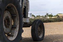 Деталь старого трактора Стоковые Изображения