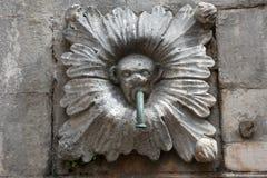 Деталь старого фонтана Стоковые Фотографии RF