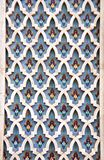 Деталь стены мозаики в мечети Хасана II, Касабланке, Марокко Стоковые Фото