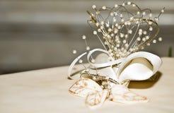 Деталь торта венчания стоковые фотографии rf
