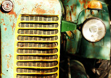 Деталь трактора Стоковые Фото