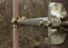 Деталь трубчатого эпицентра деятельности стоковое фото rf
