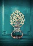 Деталь украшения двери Стоковая Фотография