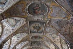 Деталь украшенного потолка стоковые изображения rf
