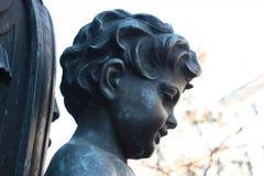 Деталь фонарика с детьми стоковая фотография rf