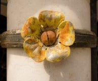 Деталь цветка nouveau искусства стоковые изображения rf
