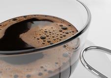 Деталь чашки кофе Стоковое Изображение