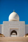 Деталь шейха Zayed Мечети в Abu Dhabi Стоковая Фотография RF