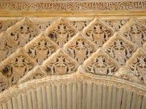 деталь alhambra Стоковое фото RF