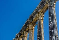 Деталь Architrave и столбца от Euromos - Euromus стоковая фотография