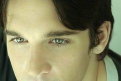 деталь eyes детеныши человека s стоковые изображения rf