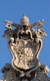 деталь rome vatican колоннады Стоковое фото RF