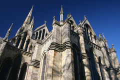 деталь salisbury собора стоковые фото