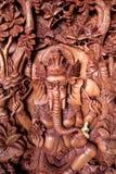 Деталь Woodcarving в деревне Mas в Ubud, Бали стоковое изображение rf