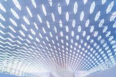 Детализируйте съемку сделанной по образцу стены, архитектурноакустической характеристики, конца-вверх стоковые фотографии rf