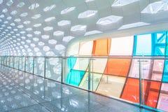 Детализируйте съемку сделанной по образцу стены, архитектурноакустической характеристики, конца-вверх стоковые изображения
