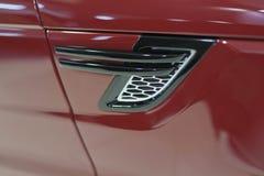 Детали автомобиля внешние элемент конструкции рождества колокола Стоковые Изображения