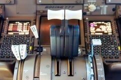 Детали арены авиалайнера Стоковая Фотография