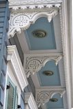 Детали архитектуры, французские кварталы, Новый Орлеан Луизиана Стоковое Изображение