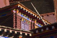 Детали архитектуры Kham Стоковая Фотография