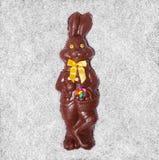 Детали большого зайчика шоколада Стоковые Фотографии RF