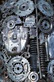 Детали двигателя абстрактная предпосылка Стоковые Фотографии RF