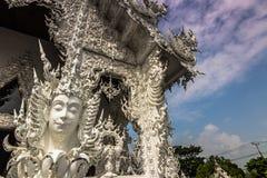 Детали входа Chiang Rai, Таиланда стоковая фотография