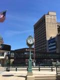 Детали городского пейзажа в городском Milwaukee, Висконсине, США Стоковое фото RF