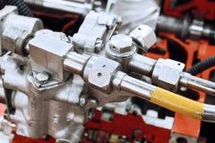 Детали источника питания auxiliary газовой турбины Стоковое Изображение
