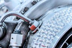 Детали источника питания auxiliary газовой турбины Стоковая Фотография