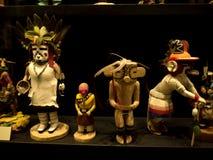 Детали коренного американца в музее в Фениксе Аризоне Стоковое фото RF