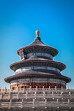 Детали крыши зеленого и голубого дракона старые китайские Стоковое Фото