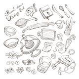 Детали кухни для печь Стоковое фото RF