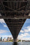 Детали моста гавани Сиднея Стоковое Фото