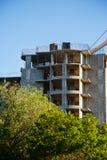 Детали незаконченного здания на строительной площадке Стоковое Изображение RF