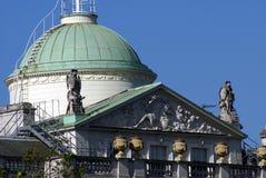 Детали дома Сомерсета в Лондоне, Англии, Европе Стоковые Изображения