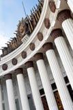 Детали павильона на выставочном центре VDNH в Москве Стоковая Фотография