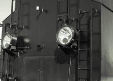 Детали польского локомотива пара стоковые фотографии rf