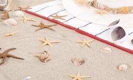Детали пляжа на песке на лето потехи Стоковое фото RF