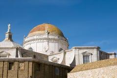 Детали собора Кадиса в Андалусии Испания Стоковое Изображение RF
