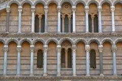 Детали собора Пизы, Италии стоковое изображение