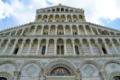 Детали собора Пизы Стоковые Фото