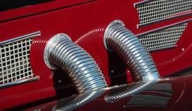 Детали старого автомобиля Стоковое Изображение