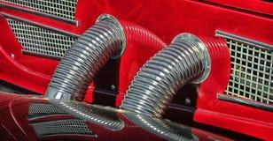 Детали старого автомобиля Стоковая Фотография RF