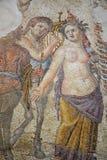 Детали старого римского пола от Paphos стоковое изображение rf