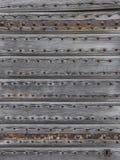 Детали старой деревянной двери Стоковое Изображение RF
