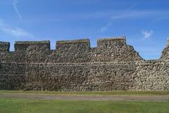 Детали стены замка Rochester в Англии Стоковая Фотография RF