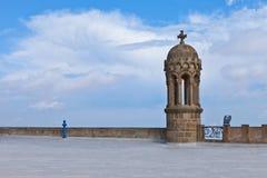 Детали церков на горе Tibidabo, Барселоне Стоковые Фотографии RF
